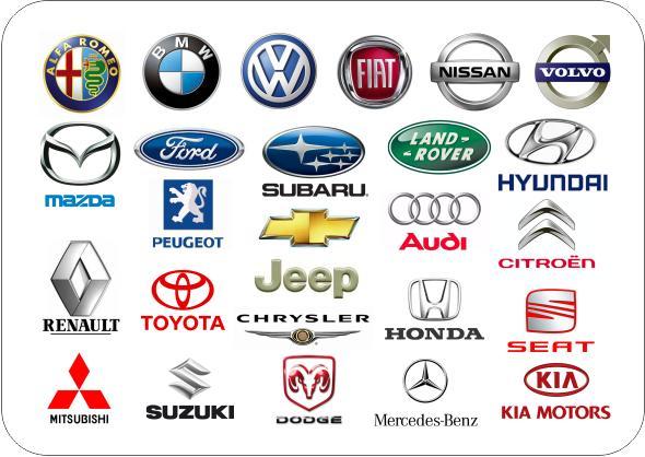 nomes de carros