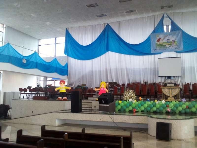Decoraç u00e3o para Igrejas Evangélicas Dicas de Decoraç u00e3o de Casam -> Decoração De Igreja Evangelica Para Congresso Infantil