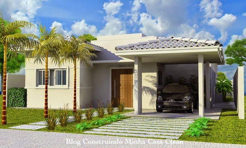 Fachadas de casas com garagem modernas pequenas fotos for Casas pequenas con fachadas bonitas