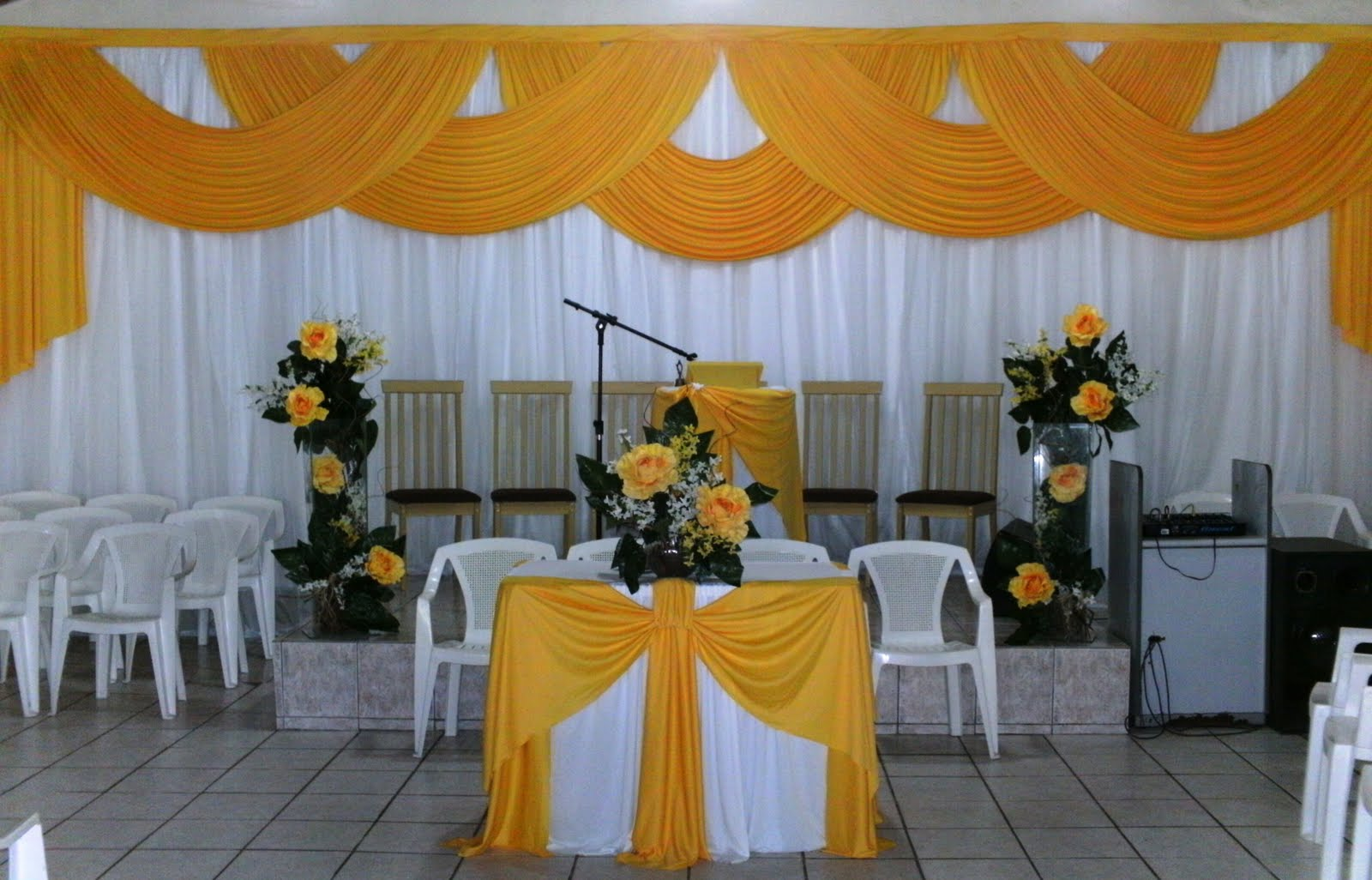 para Igrejas Evangélicas  Dicas de Decoração de Casamento
