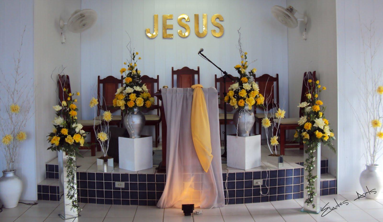 Enfeite De Igreja ~ Decoraç u00e3o para Igrejas Evangélicas Dicas de Decoraç u00e3o de Casamento