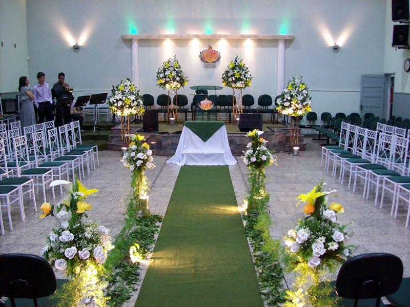 decoracao de casamento igreja evangelica:Decoração de Igreja para Casamento Evangélico