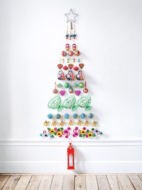 Rvores de natal modernas veja modelos e como fazer - Arbol navidad moderno ...