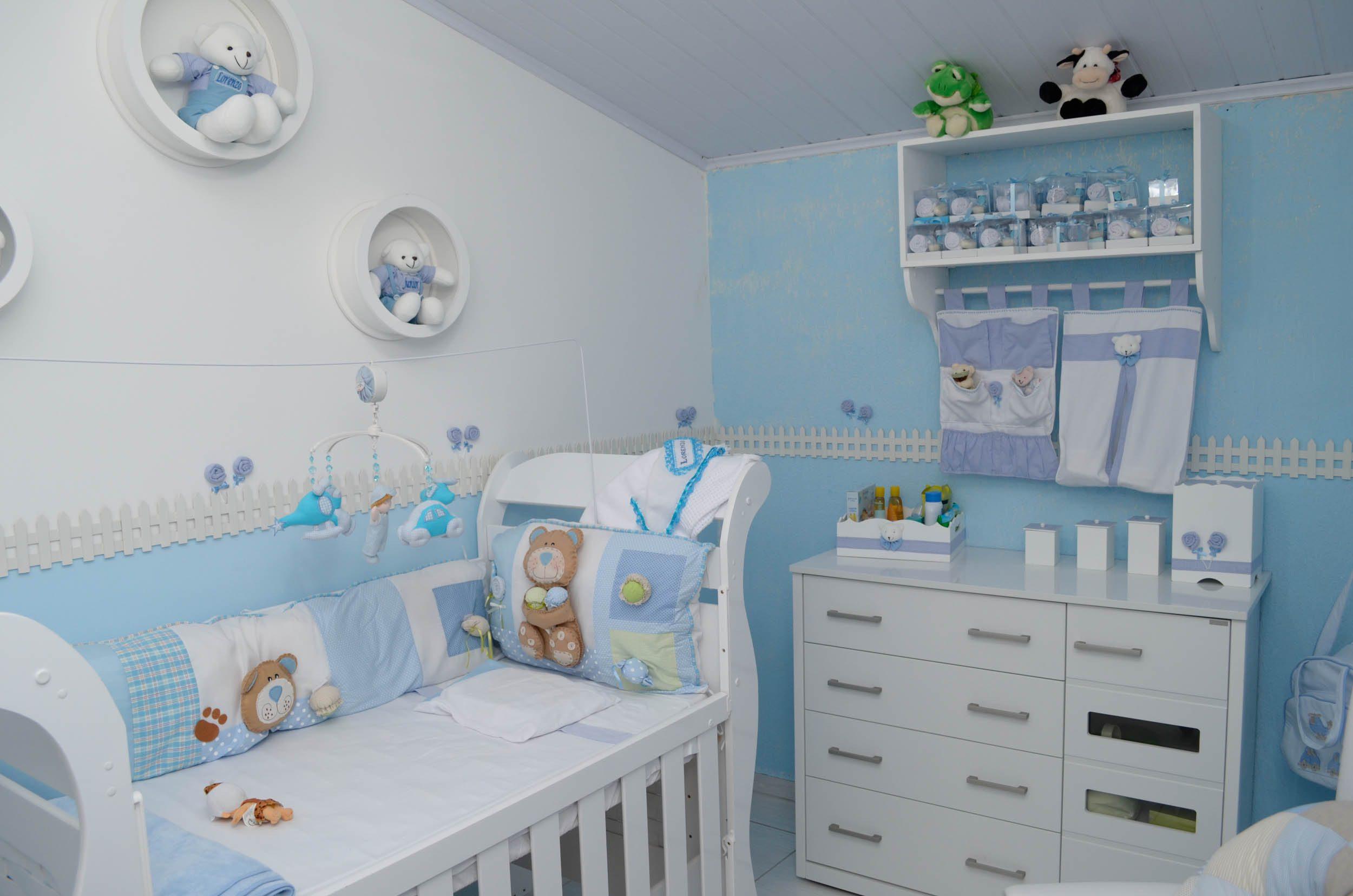 decoracao simples para quarto de bebe 1