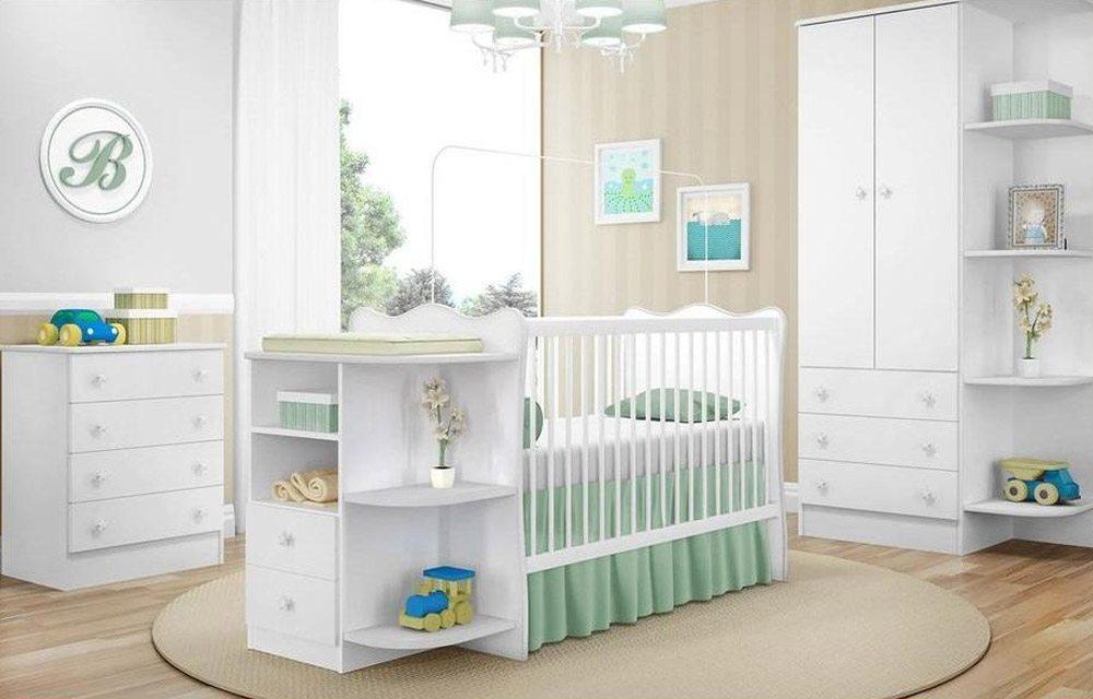 decora o de quarto de beb feminino simples e barato