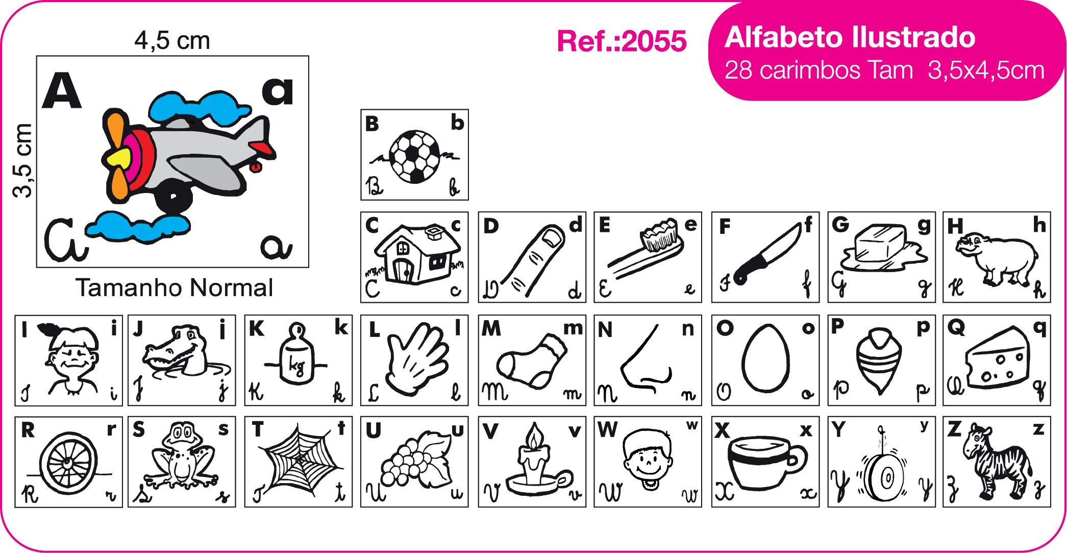 Alfabeto Ilustrado Com Pictures To Pin On Pinterest Tattooskid -> Desenhos Para Alfabeto Ilustrado