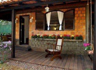 Casa e decora o jardim arquitetura casas decoradas paisagismo - Casas pequenas con encanto ...