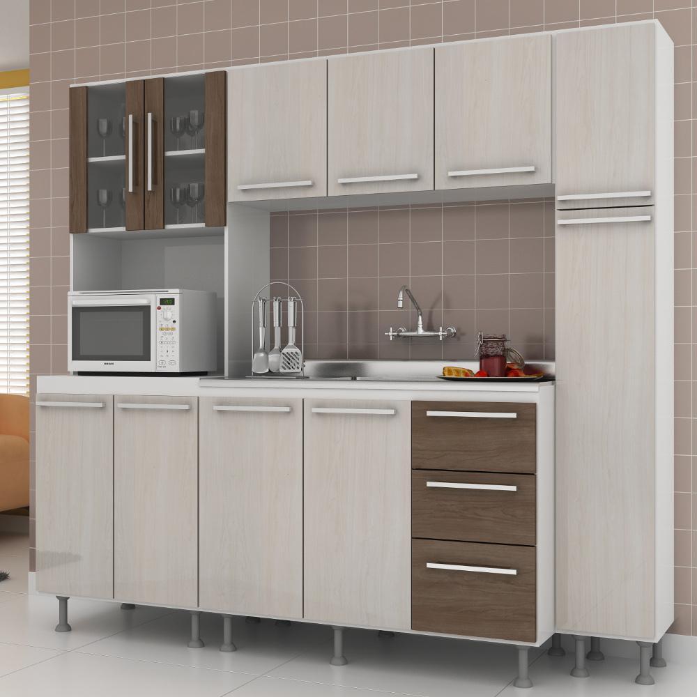 Cozinha Americana Compacta Cozinha Ideal Medidas Essencia Moveis