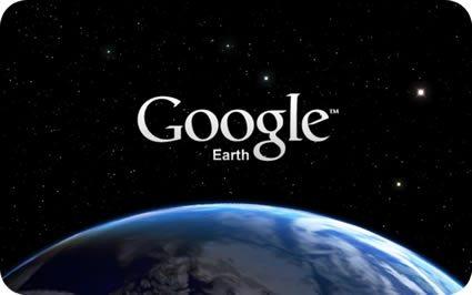 Mapas do Google Via Satélite em Tempo Real