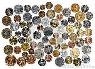 moedas de todos países