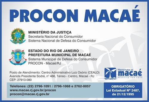 Procon Macaé