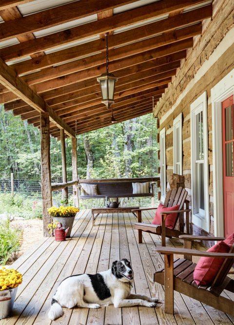 10 modelos de decora o de casas de campo. Black Bedroom Furniture Sets. Home Design Ideas