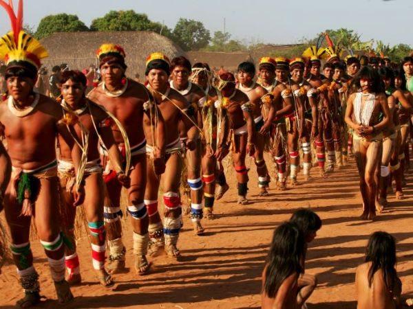 Artesanato Halloween Eva ~ Cultura Indígena Costumes, Tribos, Artesanato, Danças, Natureza e mais