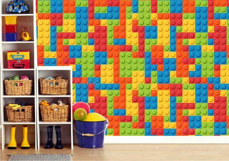 Papel de parede para quarto cozinha banheiro sala for Papel para pared infantil