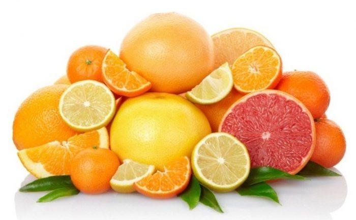 Frutas Cítricas e Não cítricas