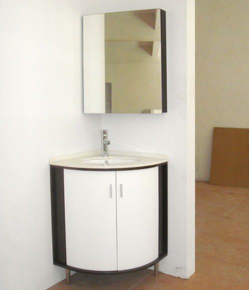 Gabinete de canto para Banheiro