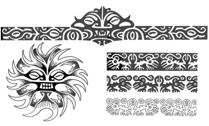 Modelos de Tatuagem Maori