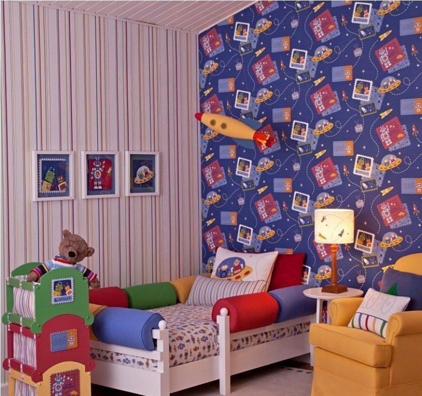 Papel de parede para quarto cozinha banheiro sala for Papel pared infantil