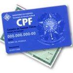Como colocar o CPF no RG