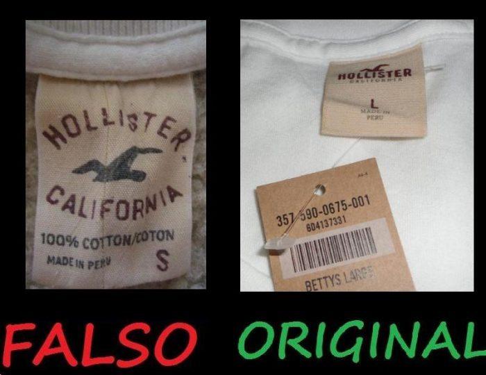Diferença entre Roupas Originais e Falsificadas