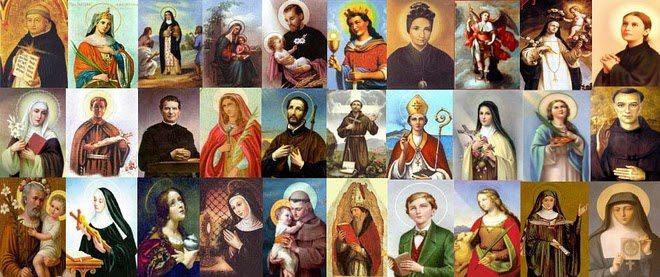Nomes de Santos Católicos