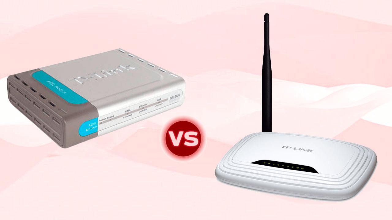 Diferença entre modem e roteador